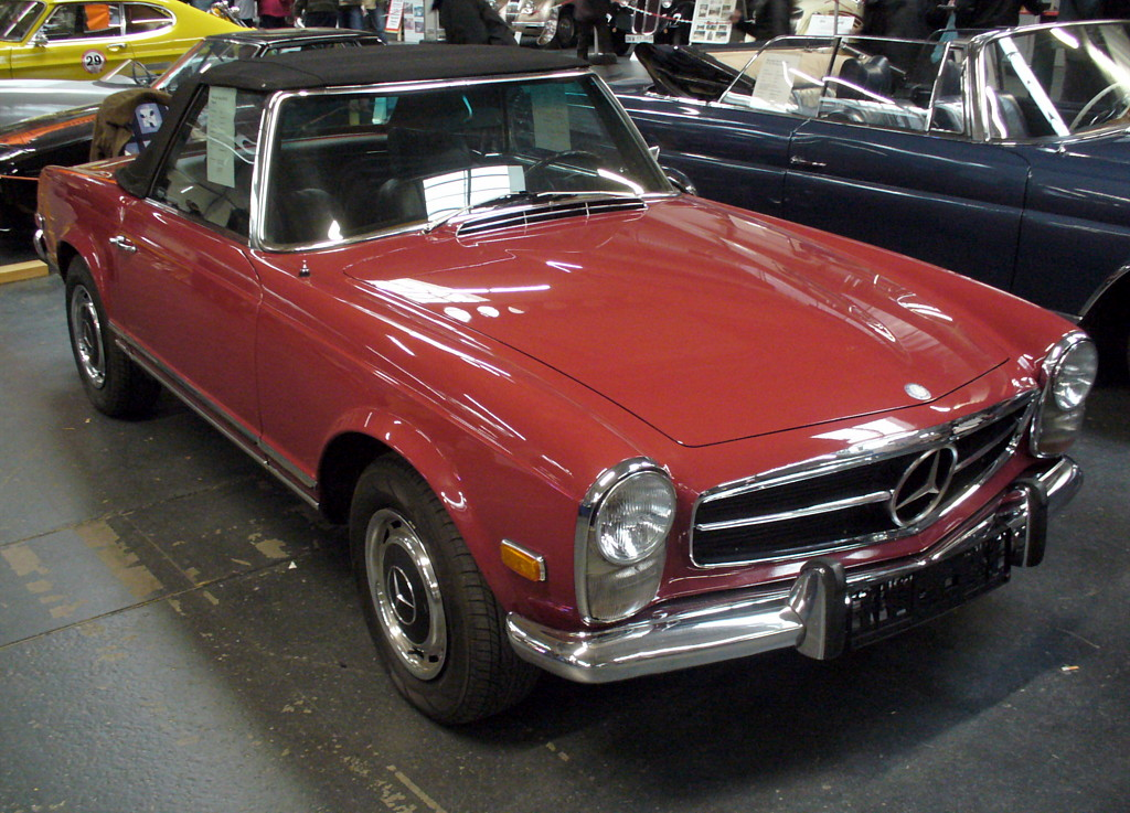 File mercedes benz w113 280 sl jpg wikimedia commons for Mercedes benz w113