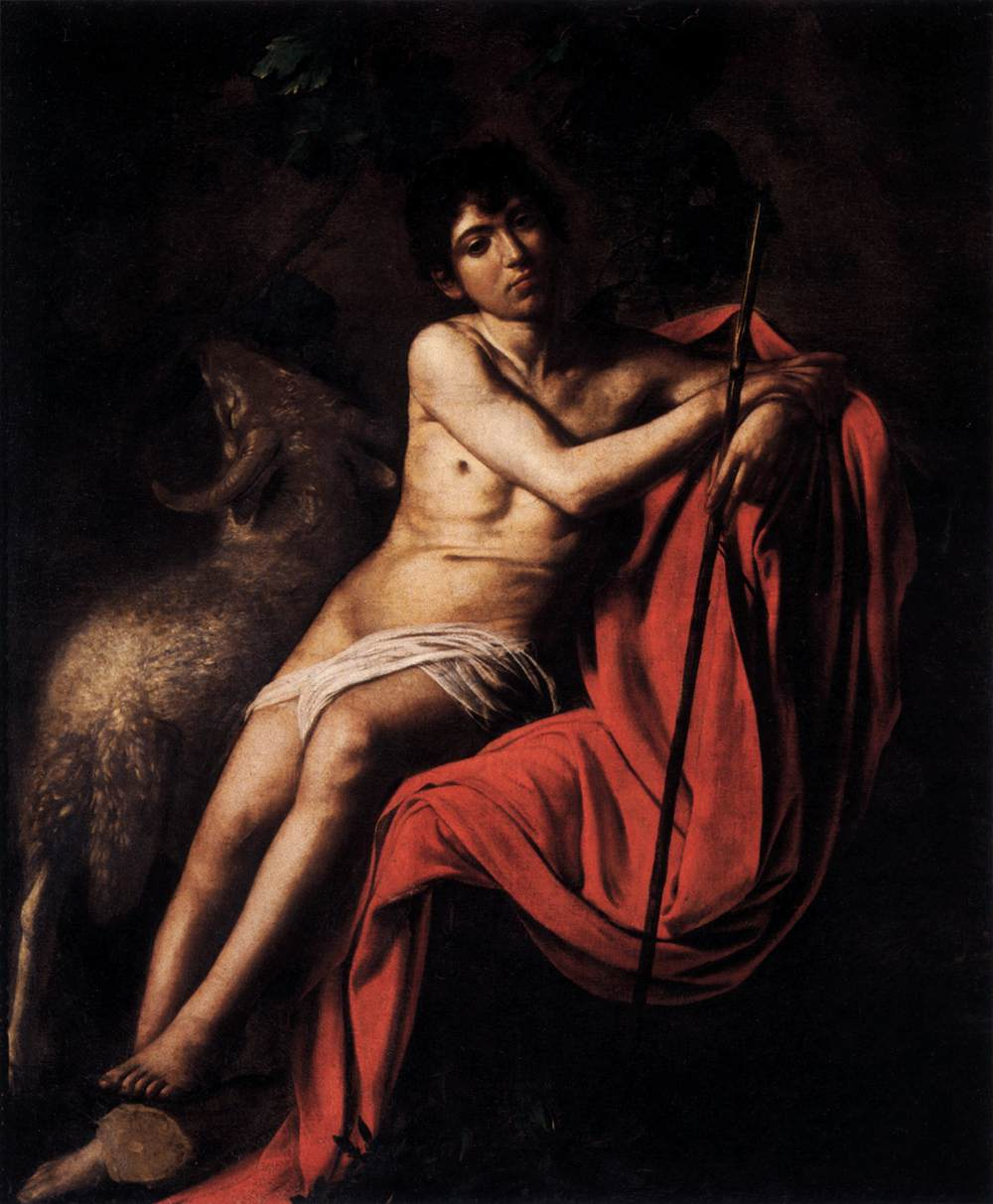 With st john the baptist caravaggio join told