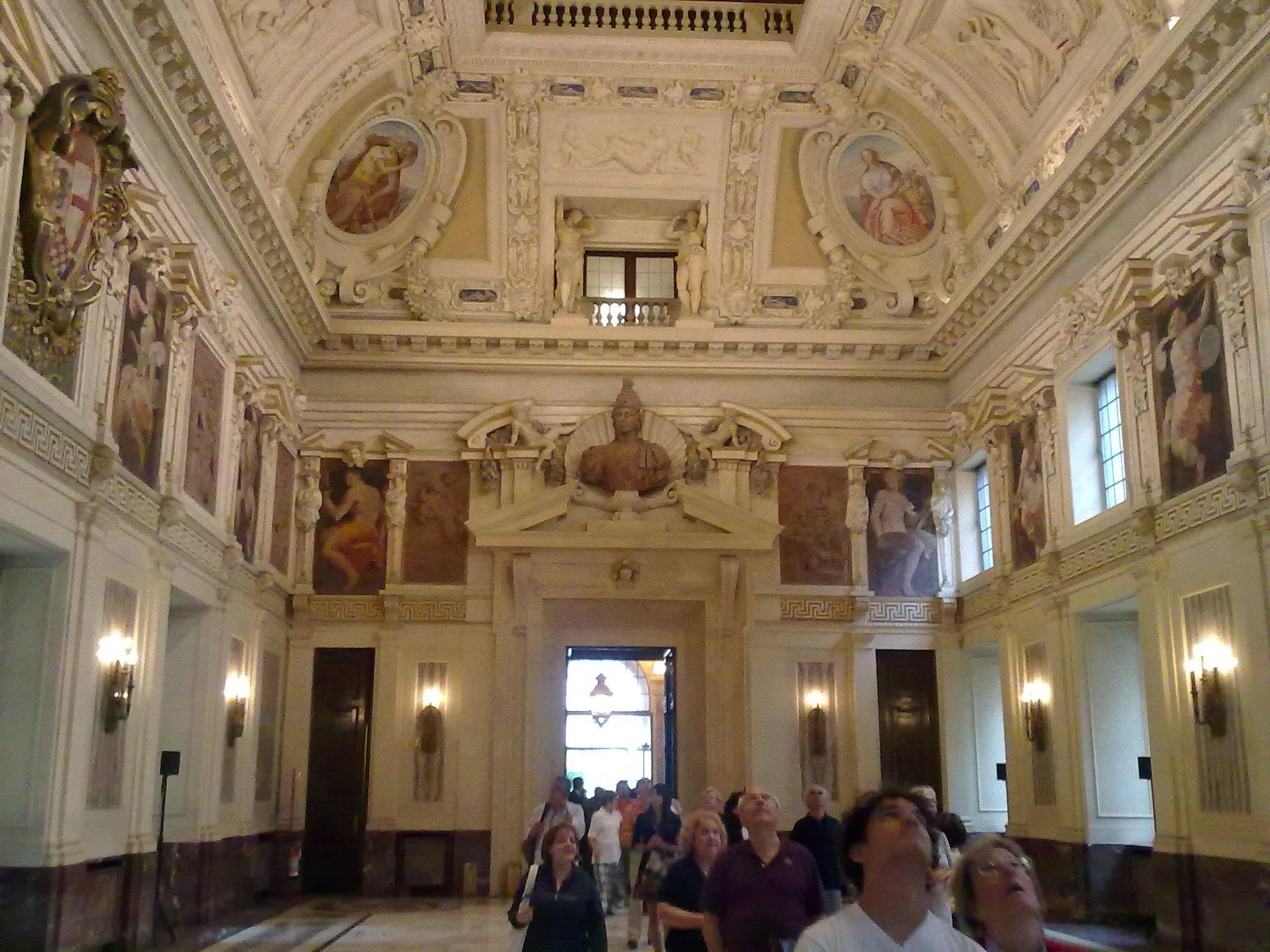 File:Milano - Palazzo Marino, Sala Alessi 01.jpg ...
