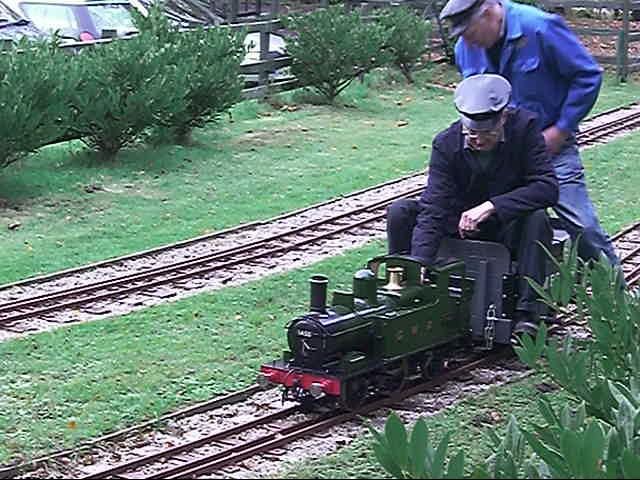 Miniature Railway in Royden Park - geograph.org.uk - 797569