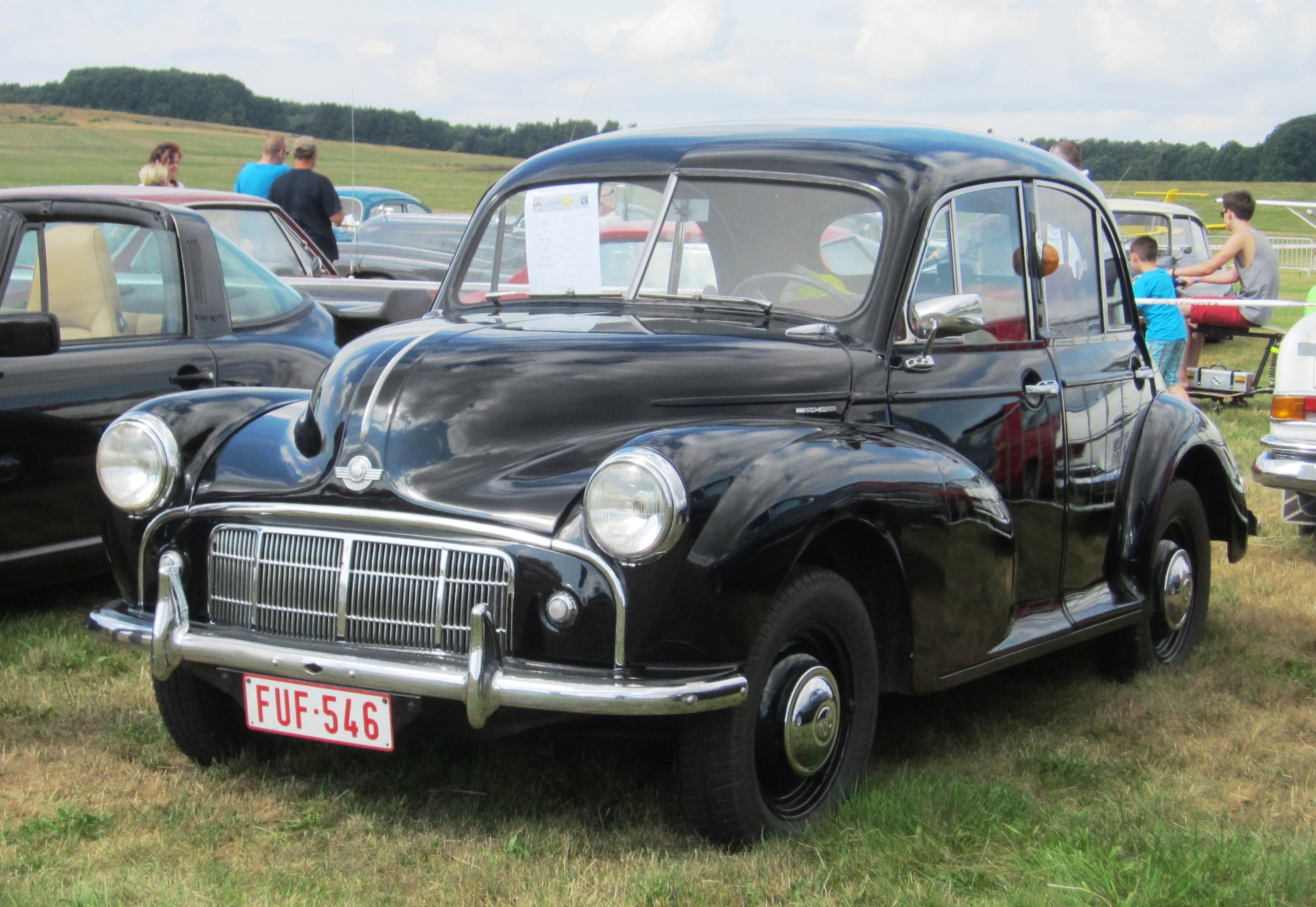 File Morris Minor 4 Door Series 2 Ca 1953 With Retro