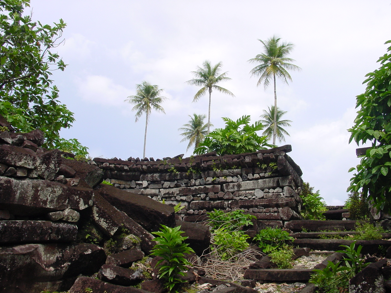 The ruins of Nan Madol, Pohnpei - Courtesy of upload.wikimedia.org