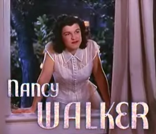 Nancy Walker best foot forward