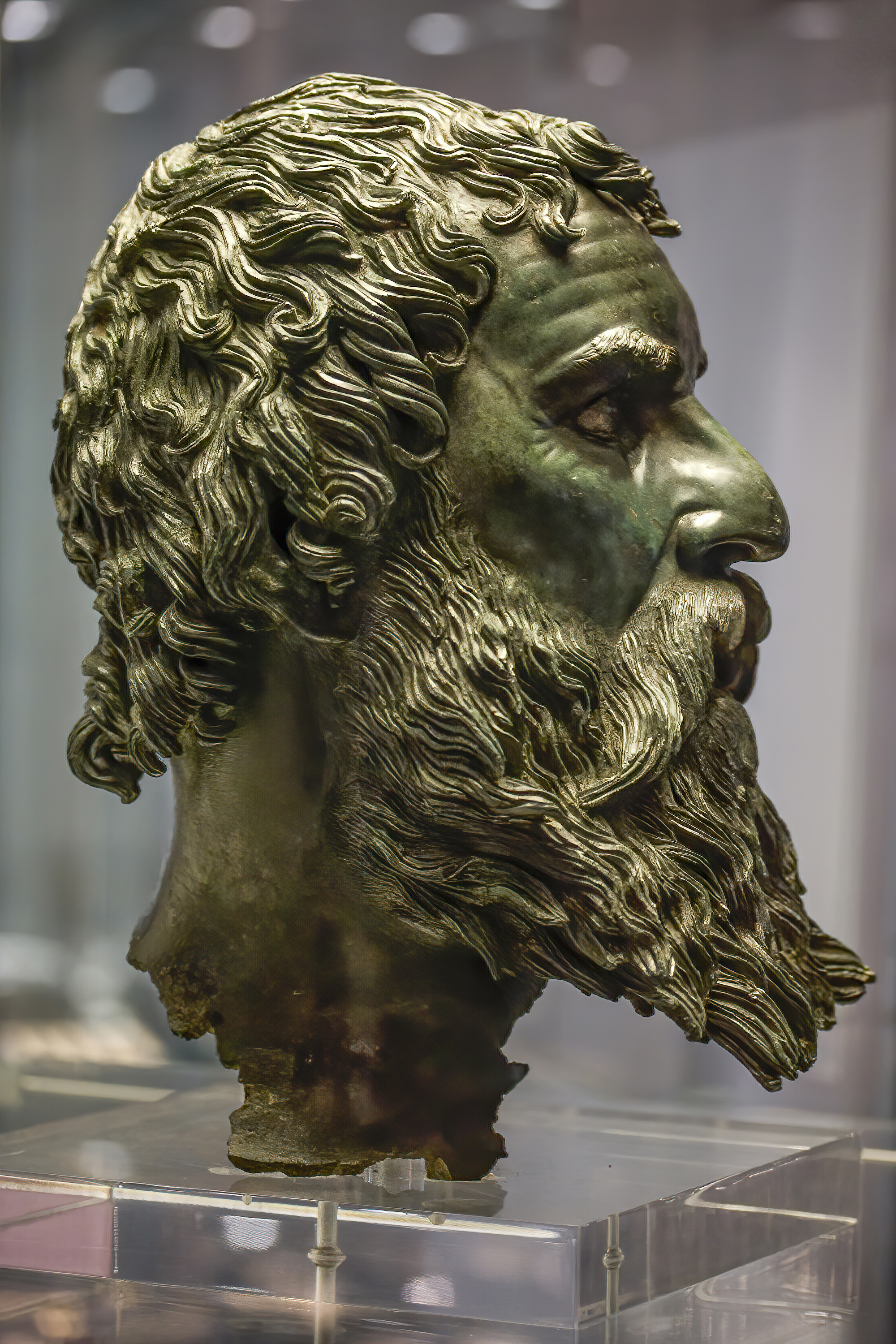 Bronze head of Seuthes III