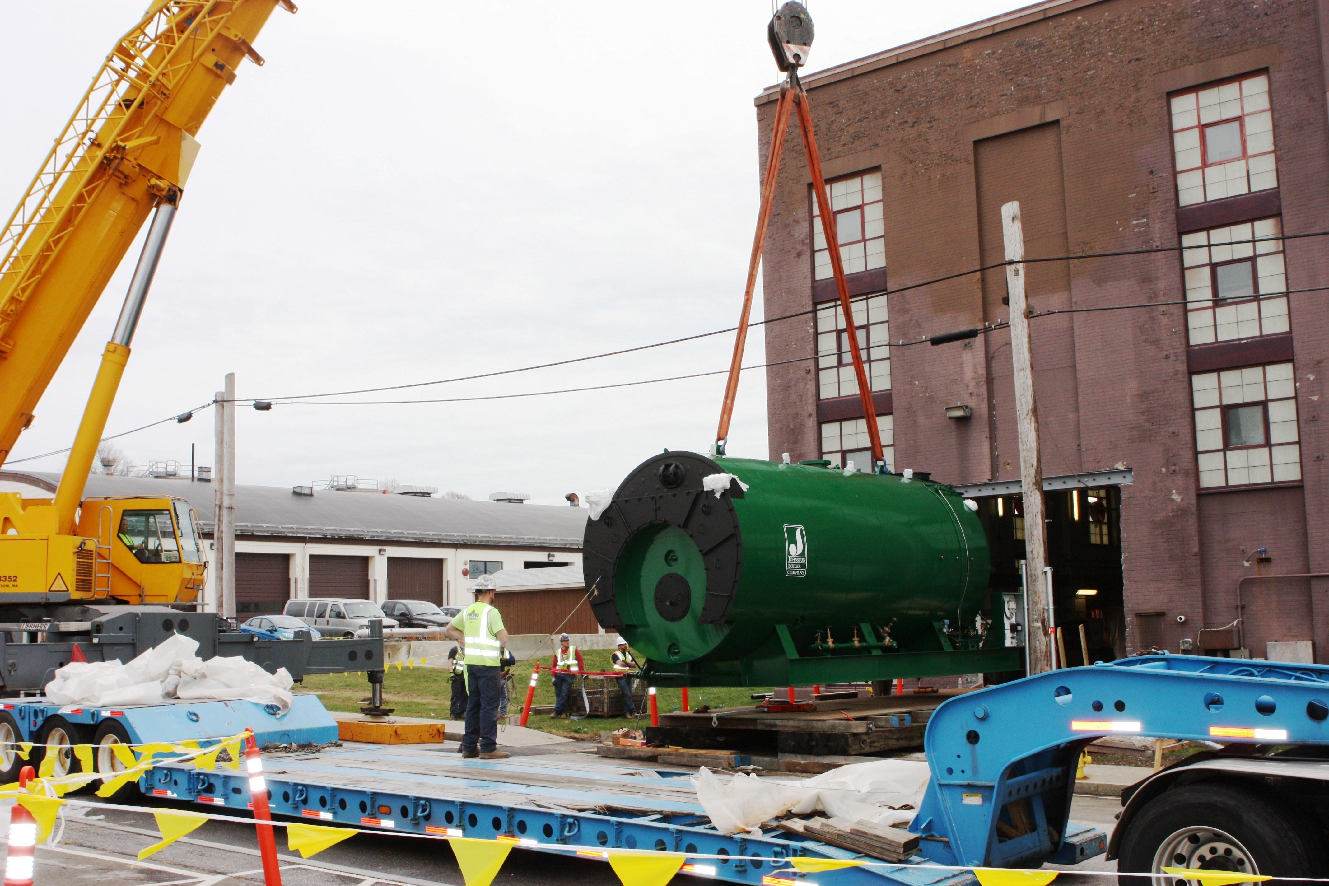 File:Naval Station Newport\'s central steam plant gets new boiler ...