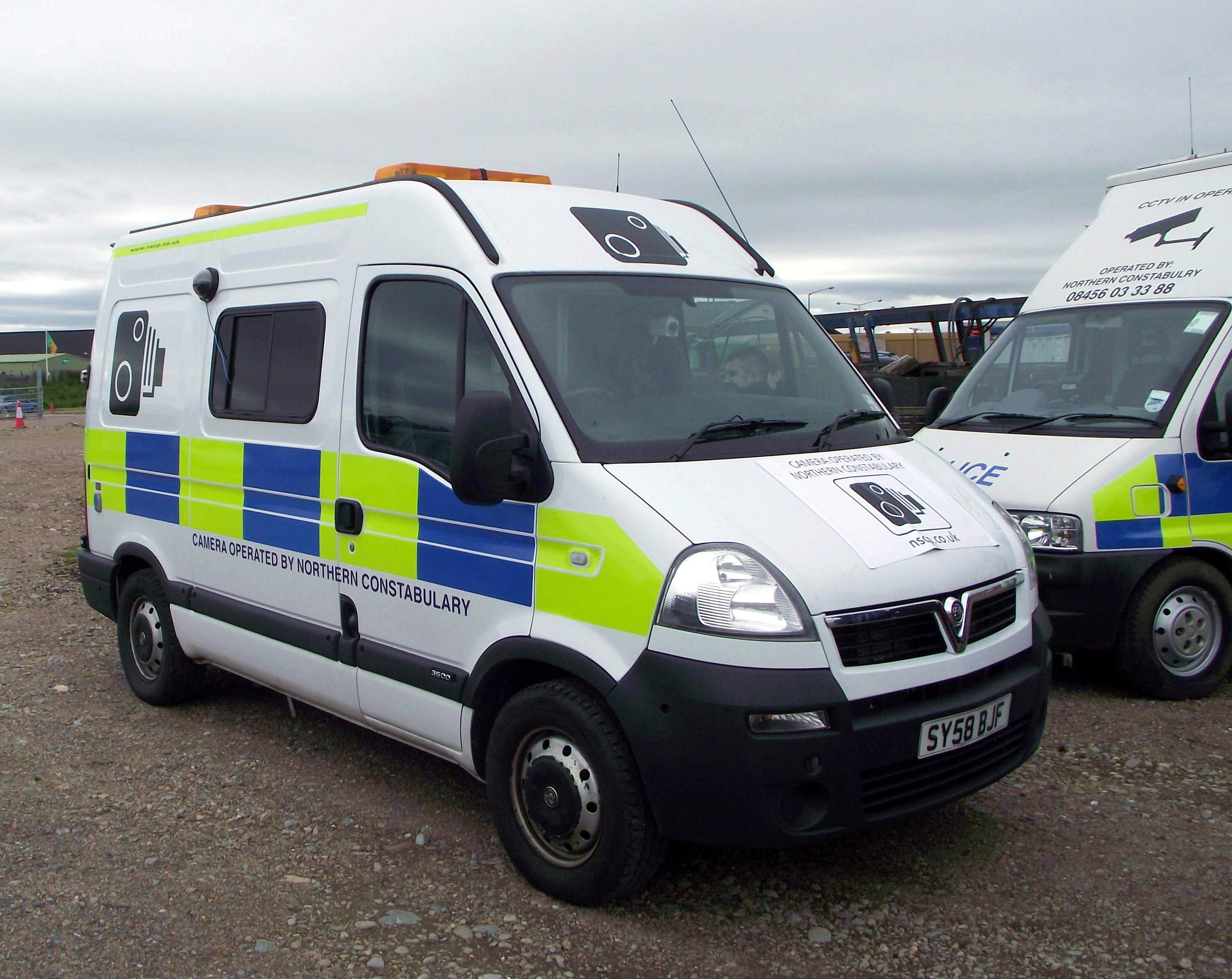 File Northern Constabulary Vauxhall Van Command Centre