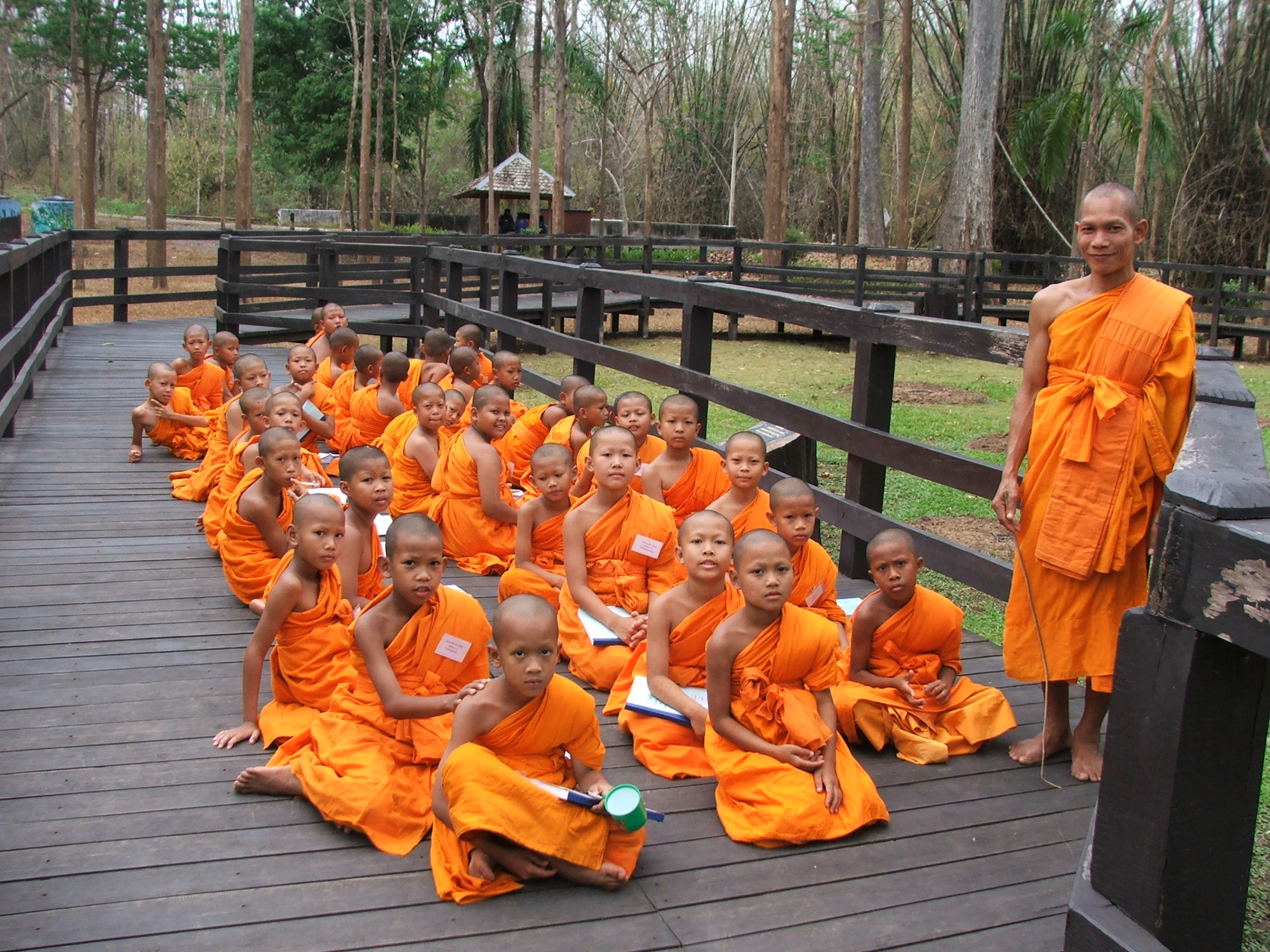 File:Novice in the Buddhist religion group.jpg - Wikipedia