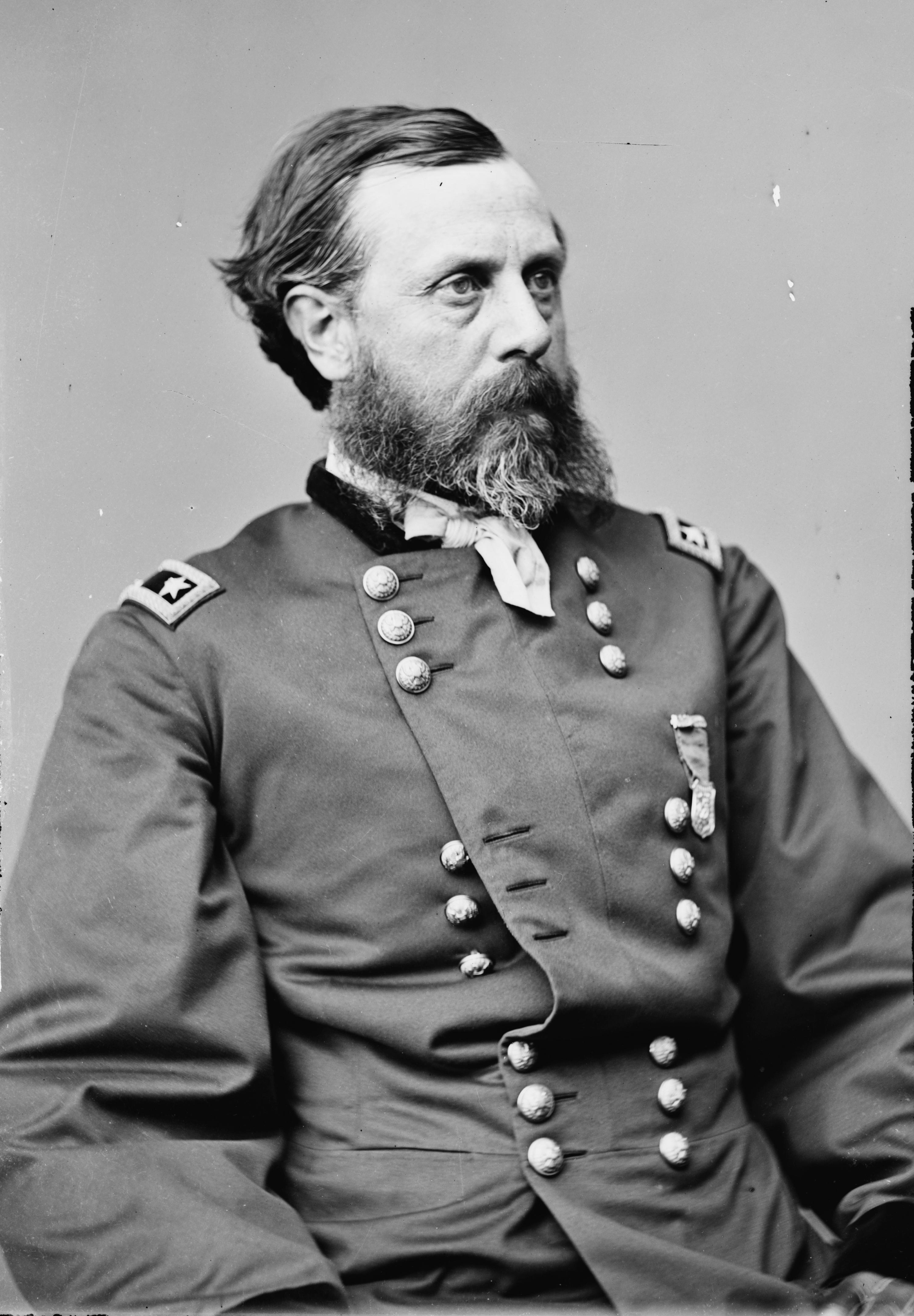 Picture of General Orlando B. Willcox by Matthew Brady, courtesy of the Library of Congress and Wikipedia Commons