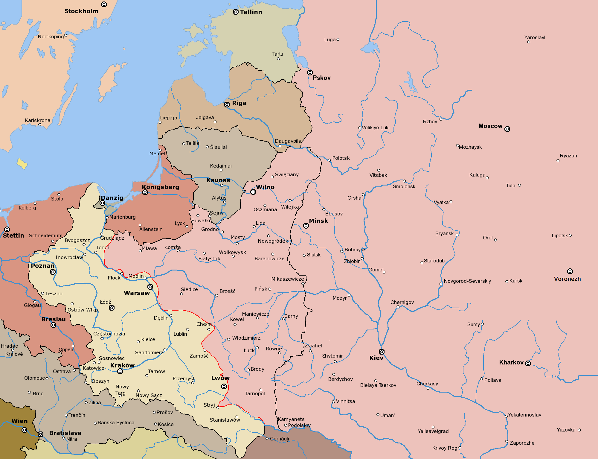 La guerra Polaco-Soviética |