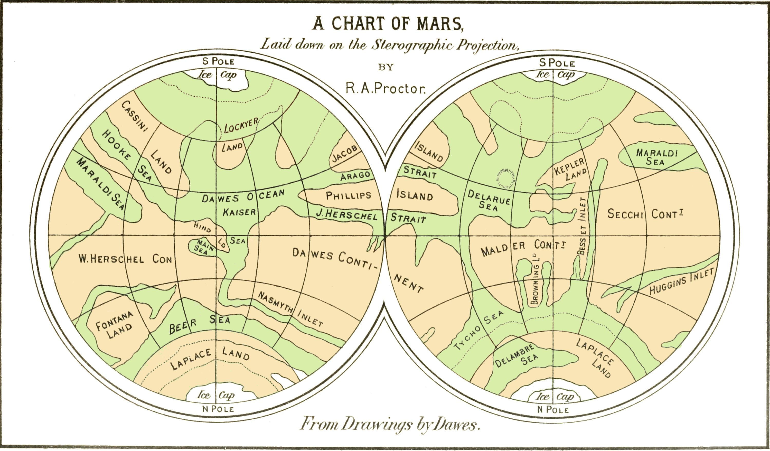Cap Conversion Chart: PSM V35 D055 A chart of mars from drawings by dawes.jpg ,Chart
