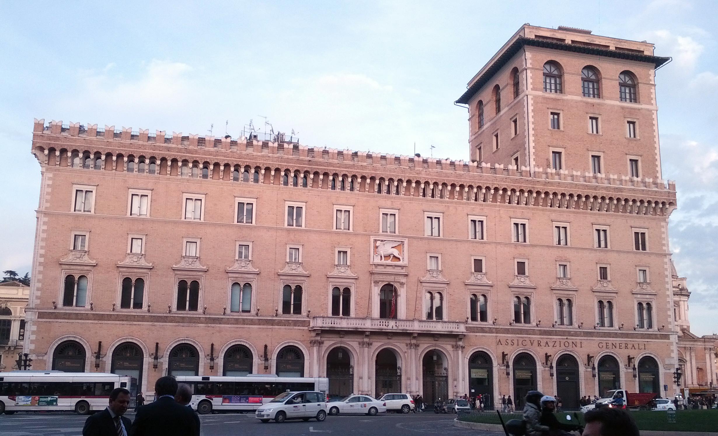 File palazzo delle assicurazione generali for Assicurazione casa generali