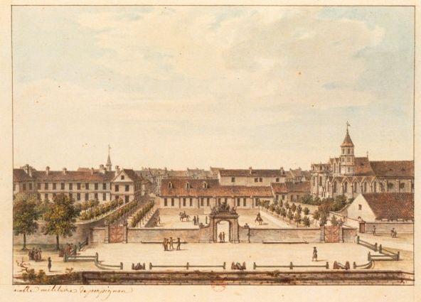 Perpignan - Ecole militaire (vers 1780)