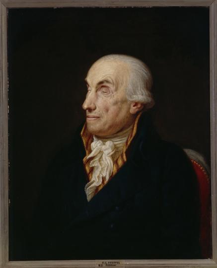 Gottlieb Conrad Pfeffel, painting by Georg Friedrich Adolph Schoner, 1809