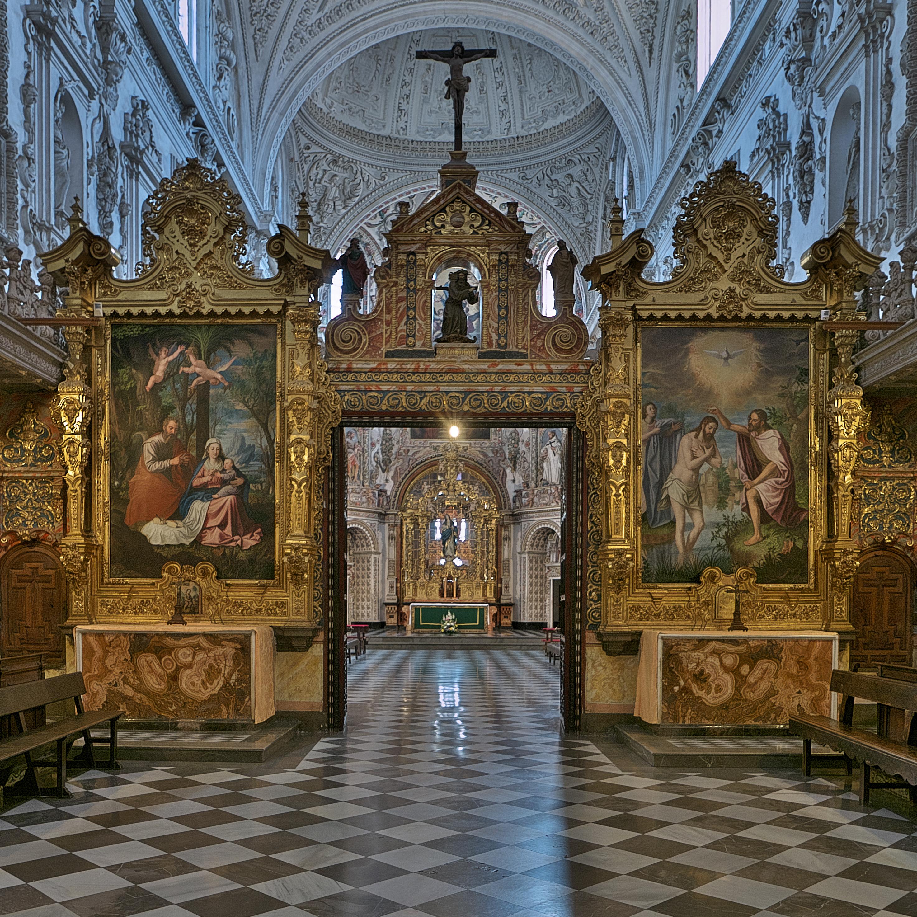 File:Pinturas en el coro de legos, Cartuja de Granada.jpg - Wikimedia  Commons