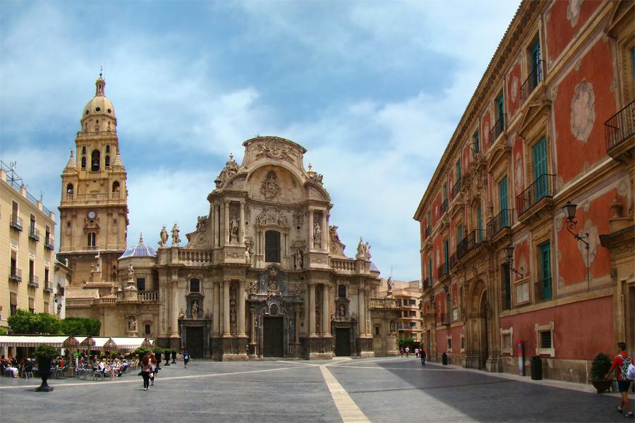 Archivo:Plaza del Cardenal Belluga, Murcia.jpg - Wikipedia, la ...