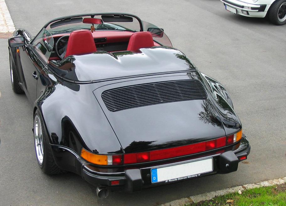 File Porsche 911 Speedster Black Jpg Wikimedia Commons