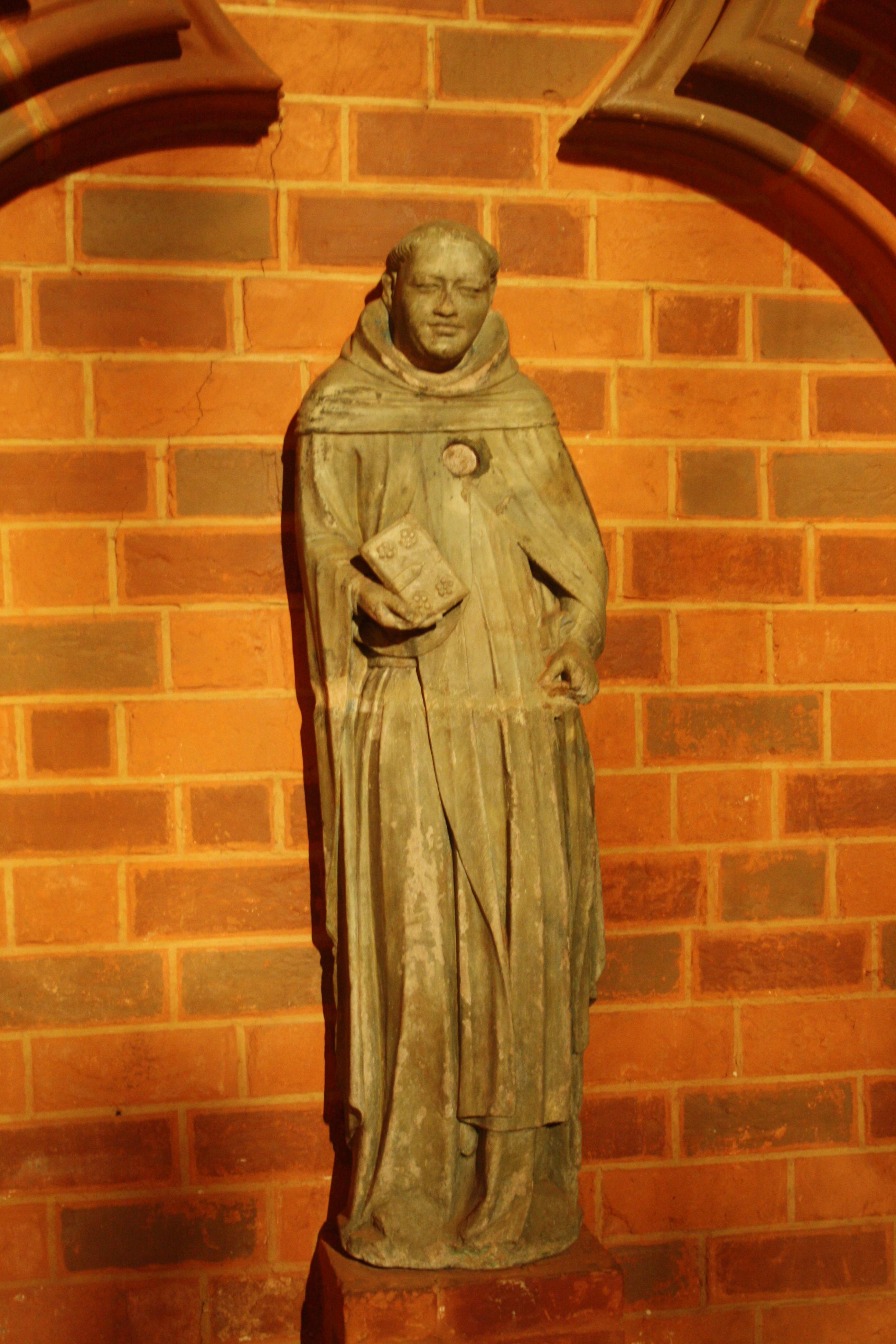 Prior Wichmann von Arnstein in der Klosterkirche St. Trinitatis in Neuruppin