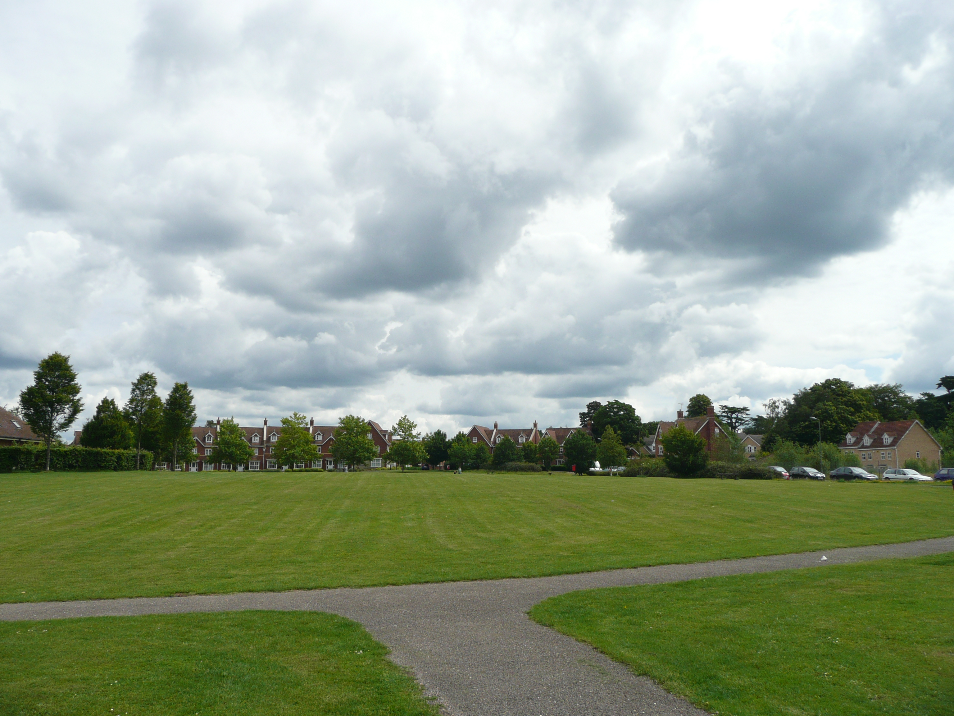 File:Public open space between Canada Way and Liphook Millennium Hall from th...