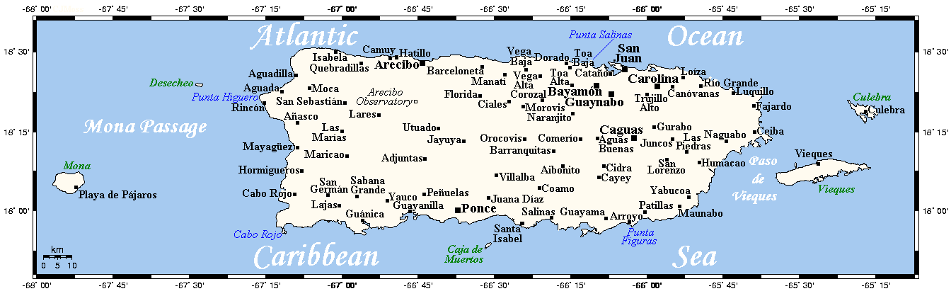 FilePuertoRicoOMCpng Wikimedia Commons - Puerto rico cities towns map