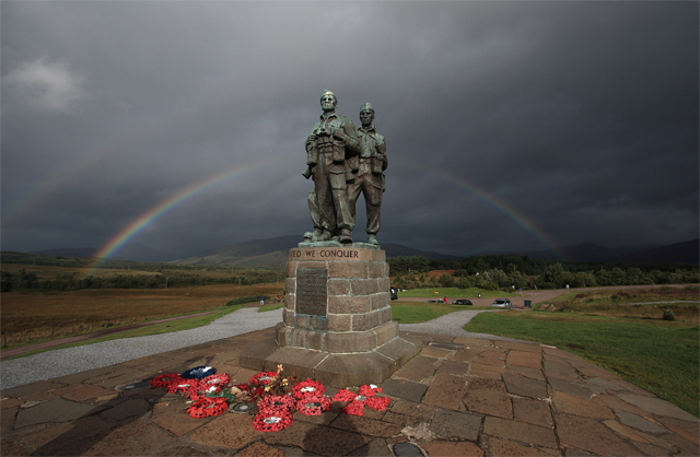 Rainbow Warriors (2) - Commando Memorial, Spean Bridge - geograph.org.uk - 967265