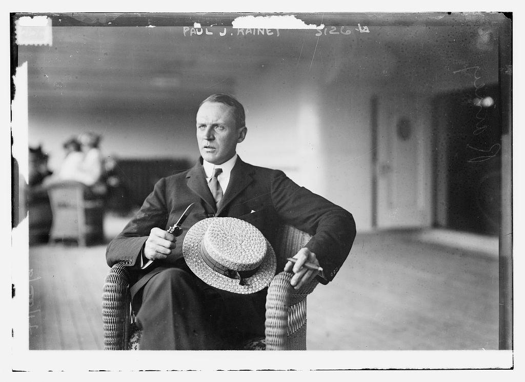 Image of Paul J. Rainey from Wikidata