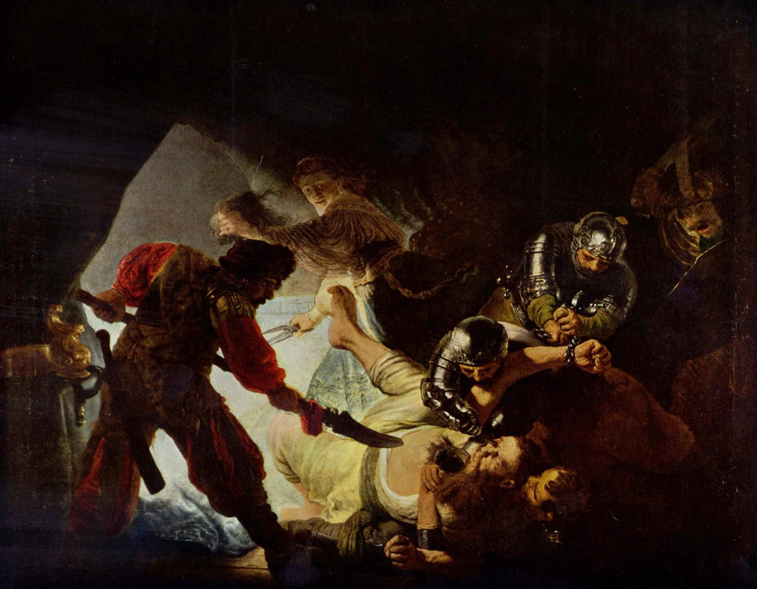 The blind making of Samson 1636