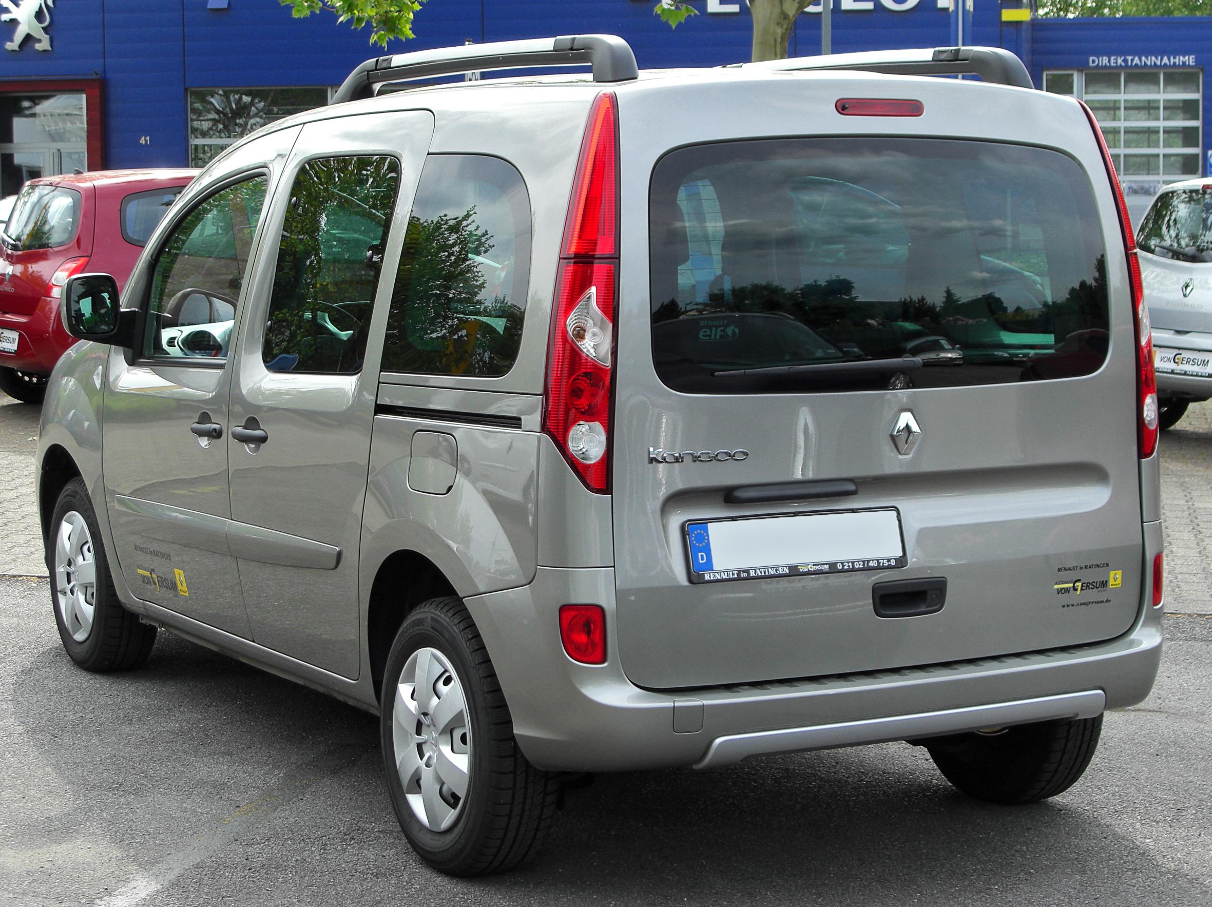 File:Renault Kangoo II rear 20100529.jpg - Wikimedia Commons