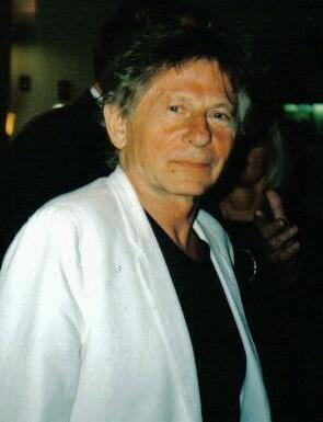 Actor and film director Roman Polański.