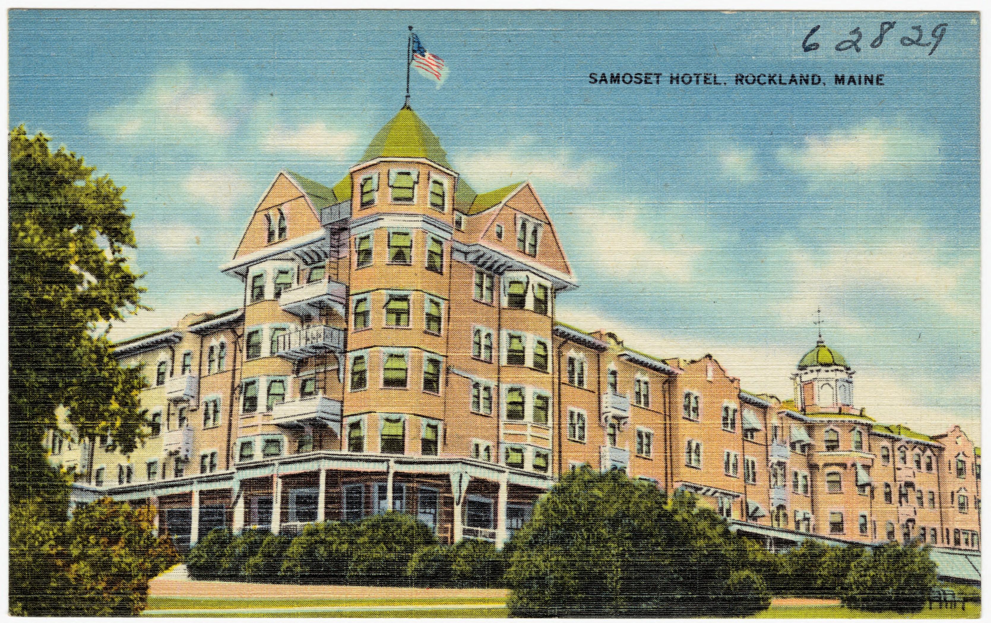 File Samoset Hotel Rockland Maine 62829 Jpg