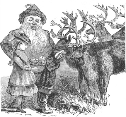 File:Santa and his reindeer.jpg