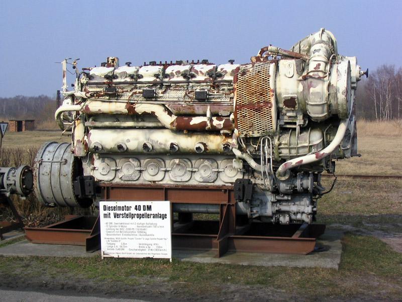 Дизельный двигатель с