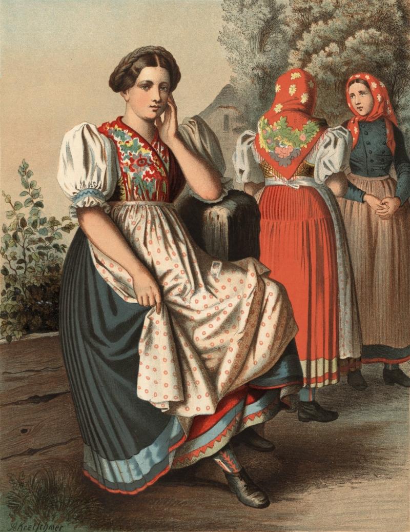 26298bd336398 File:Schlesische Tracht aus Czarnowanz.jpg - Wikimedia Commons