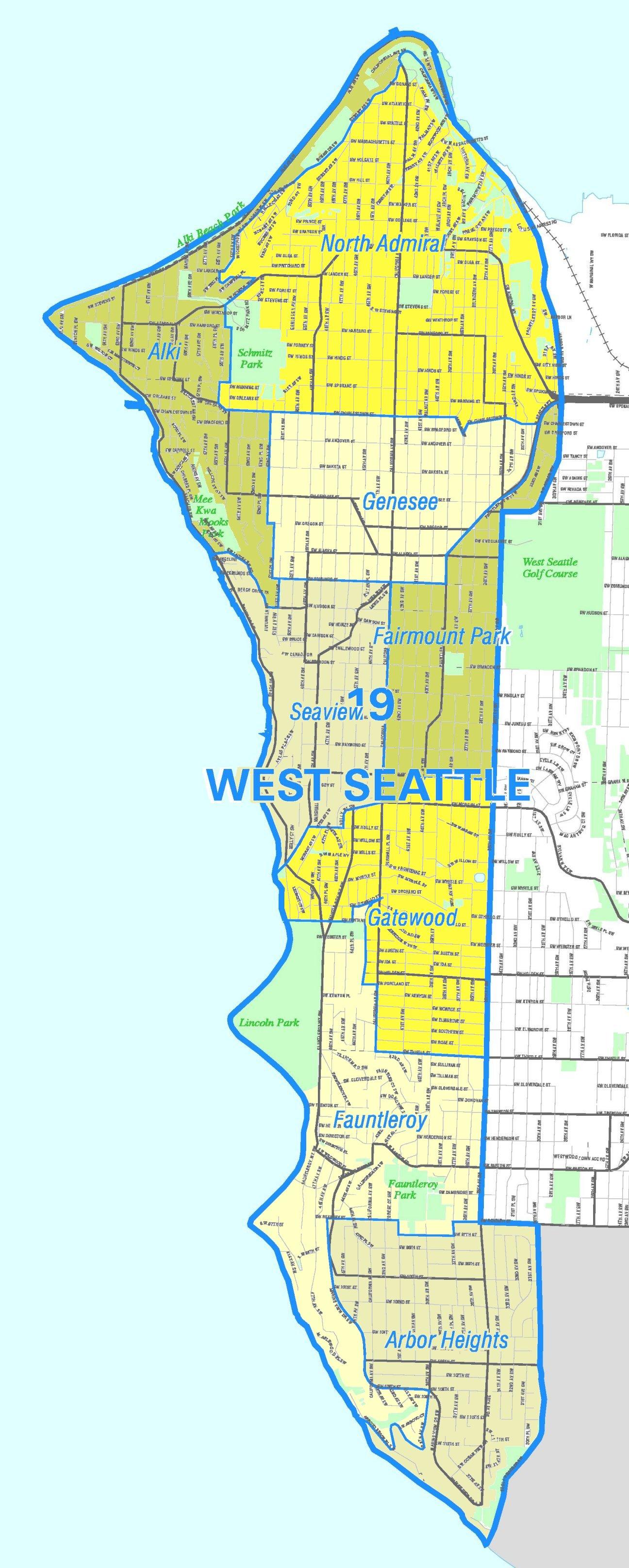 FileSeattle  West Seattle Mapjpg  Wikimedia Commons