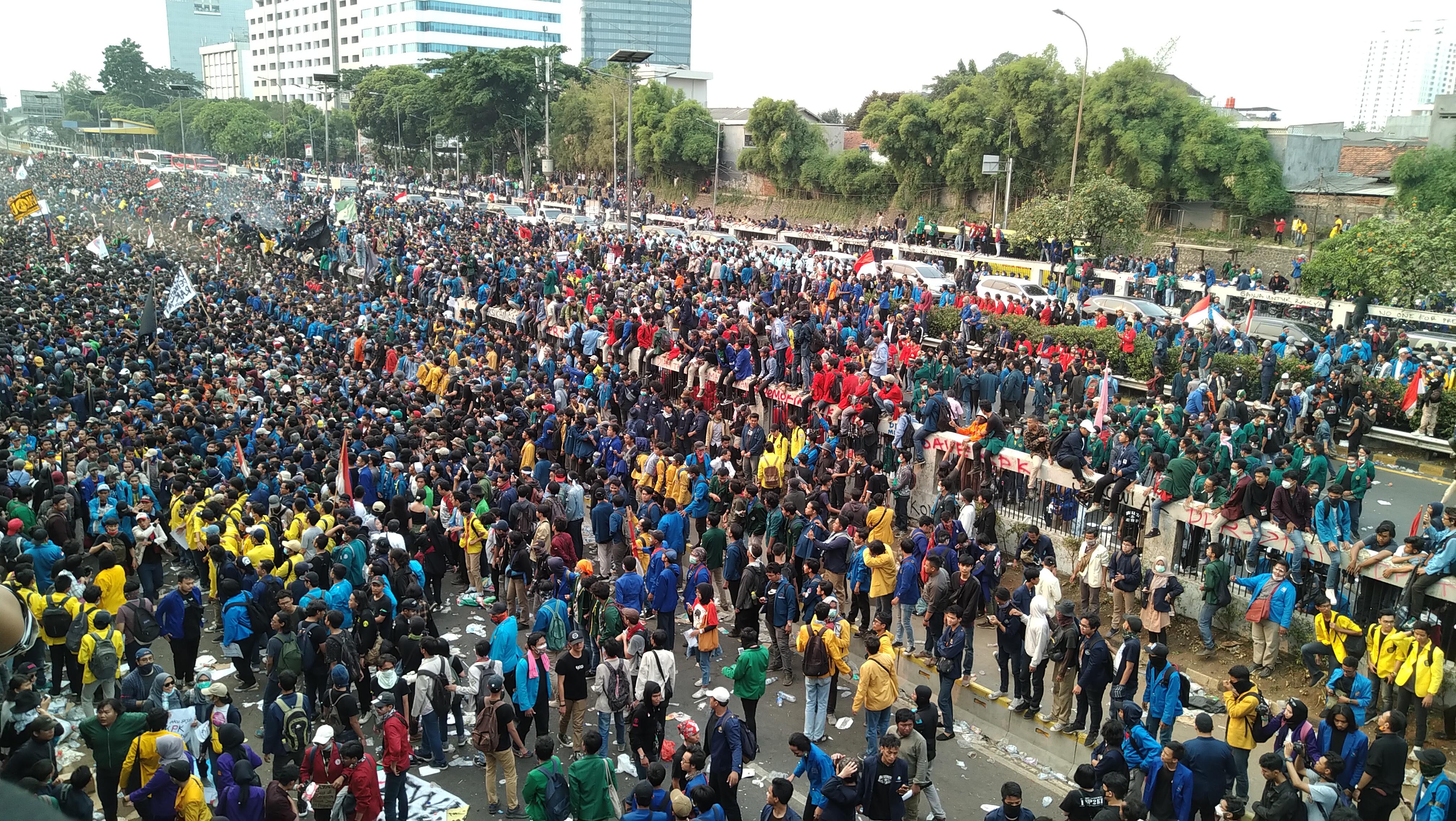 Unjuk rasa dan kerusuhan Indonesia September 2019 - Wikipedia bahasa Indonesia, ensiklopedia bebas