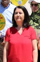Serpil Kemalbay Chairwoman of Turkish left-leaning political party called the Peoples Democratic Party