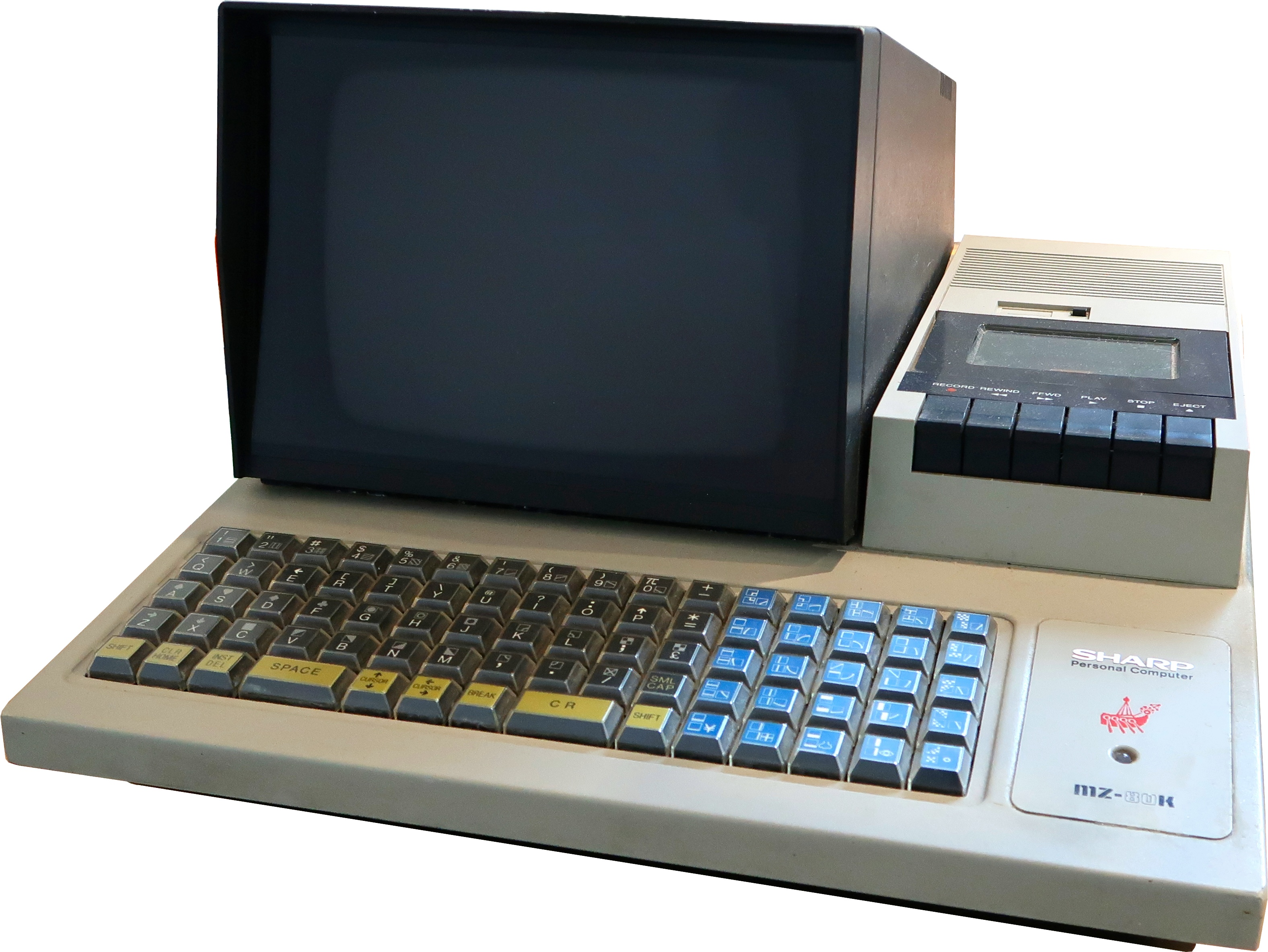 English Sharp MZ-80K computer