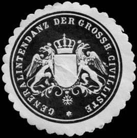 File:Siegelmarke Generalintendanz der Grossherzoglichen Civilliste W0233544.jpg