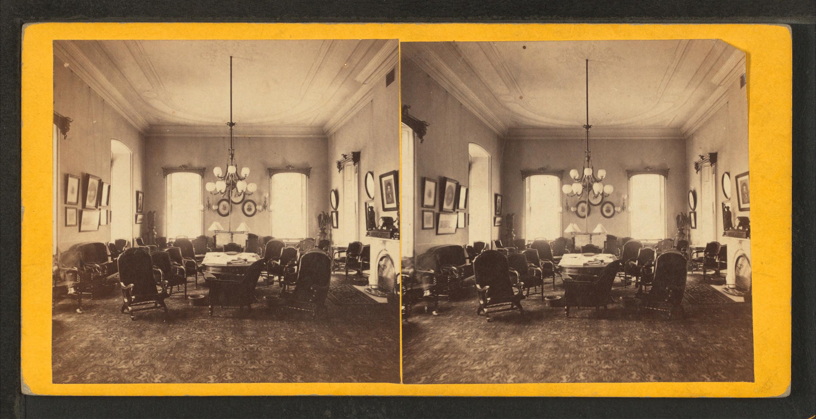 File:Smoking room, Union League, Philada, from Robert N. Dennis ...
