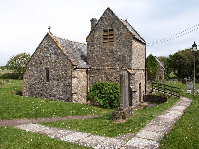 St Bridget's church, Brean - geograph.org.uk - 1298032