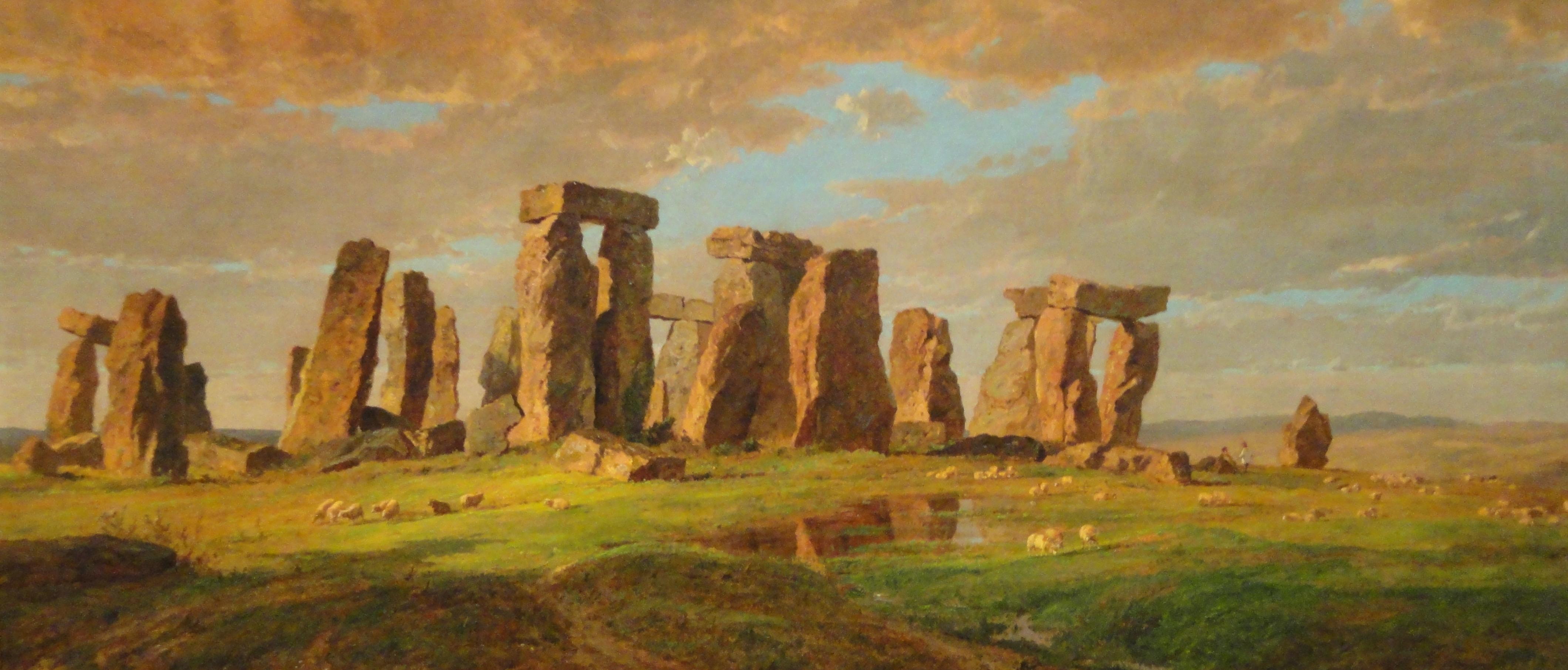 File:Stonehenge by Jasper Francis Cropsey, 1876 - Nelson-Atkins ...