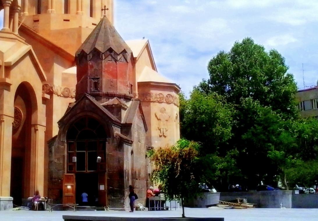 katoghike church  yerevan