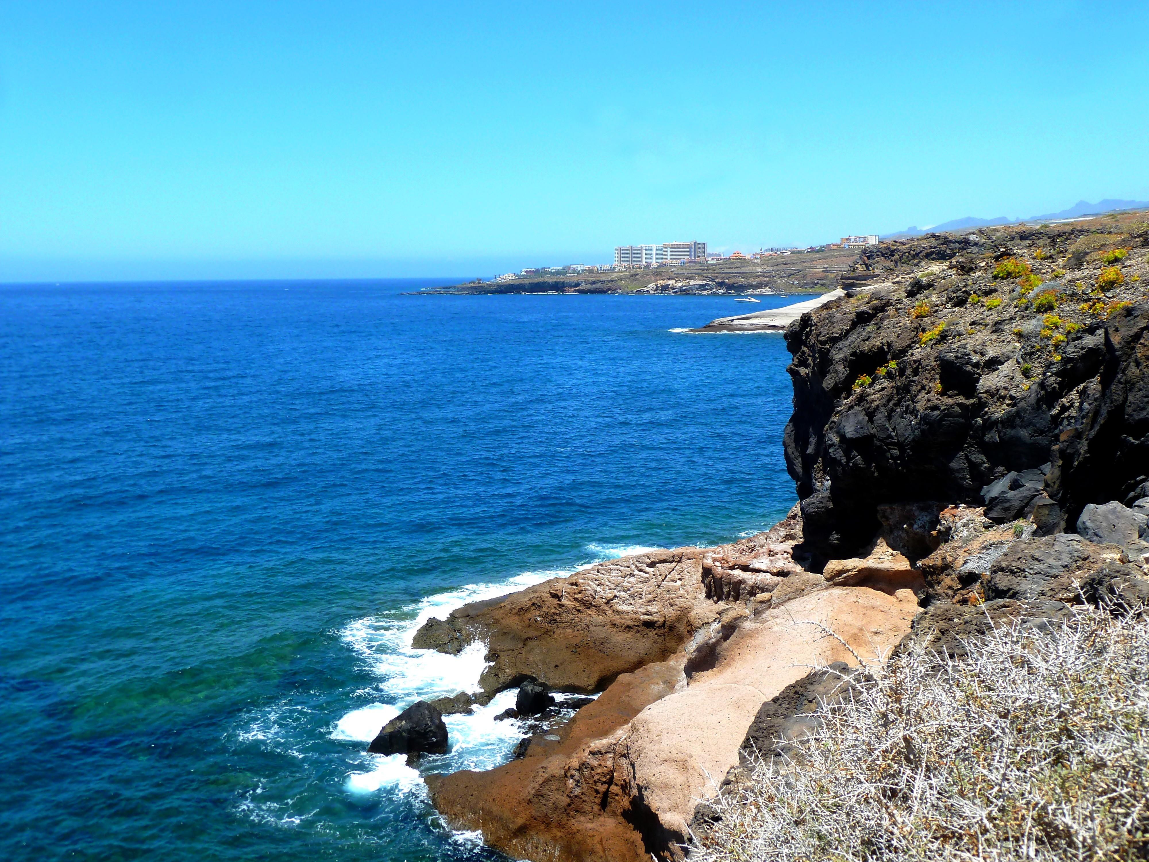 File Teneriffa Costa Adeje La Caleta Blick Nach Callao Salvaje Panoramio Jpg Wikimedia Commons