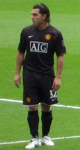 Tevez Away Kit