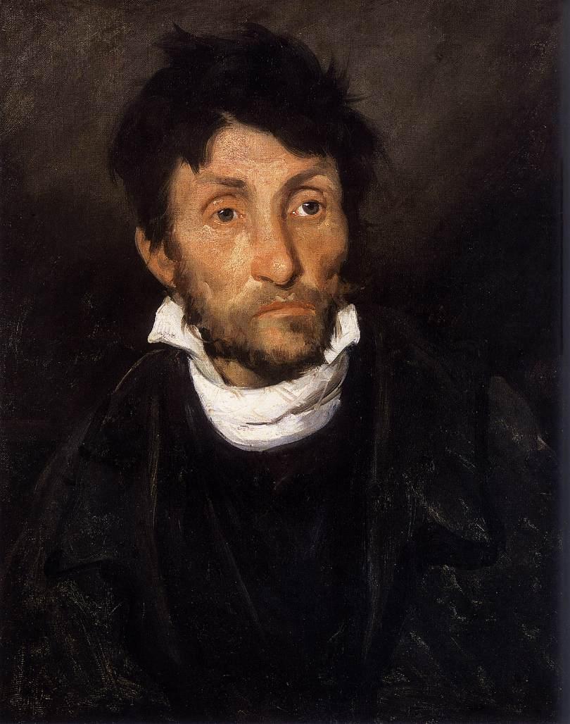 Portrait of a Kleptomaniac - Wikipedia Theodore Géricault