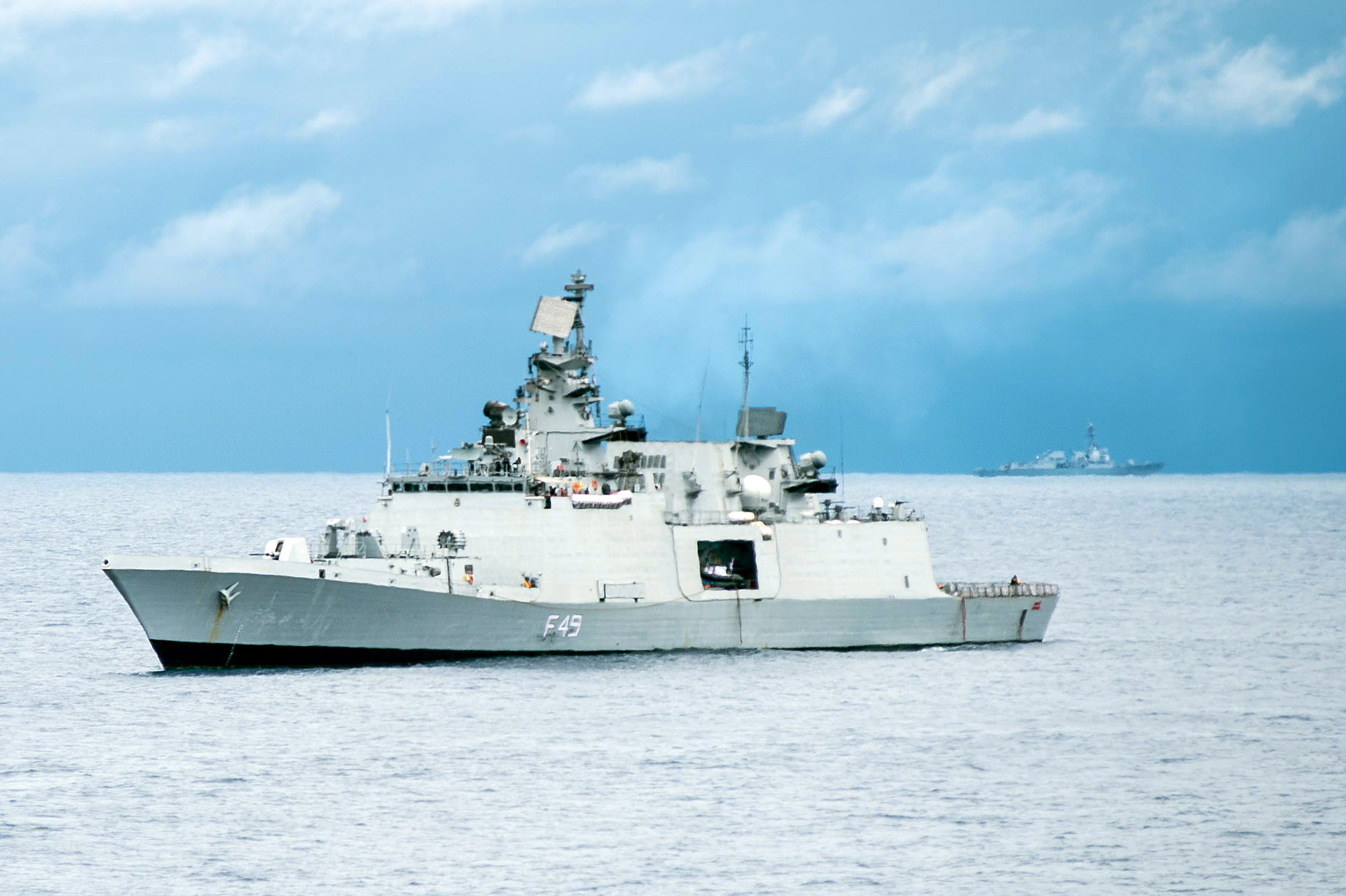 Frigate 11356: photo and history of the project 26