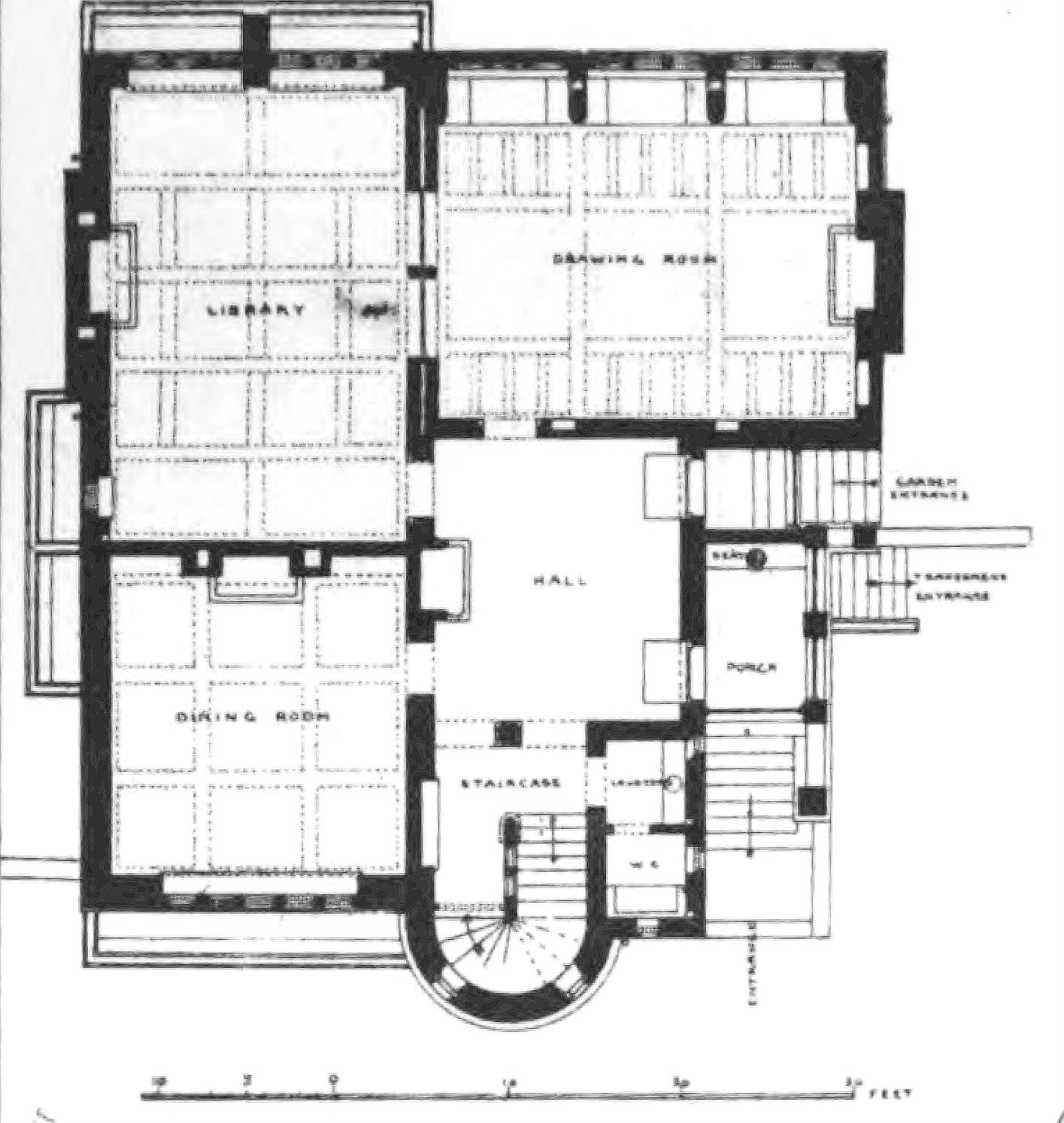 File tower house ground floor wikipedia Ground floor house plan