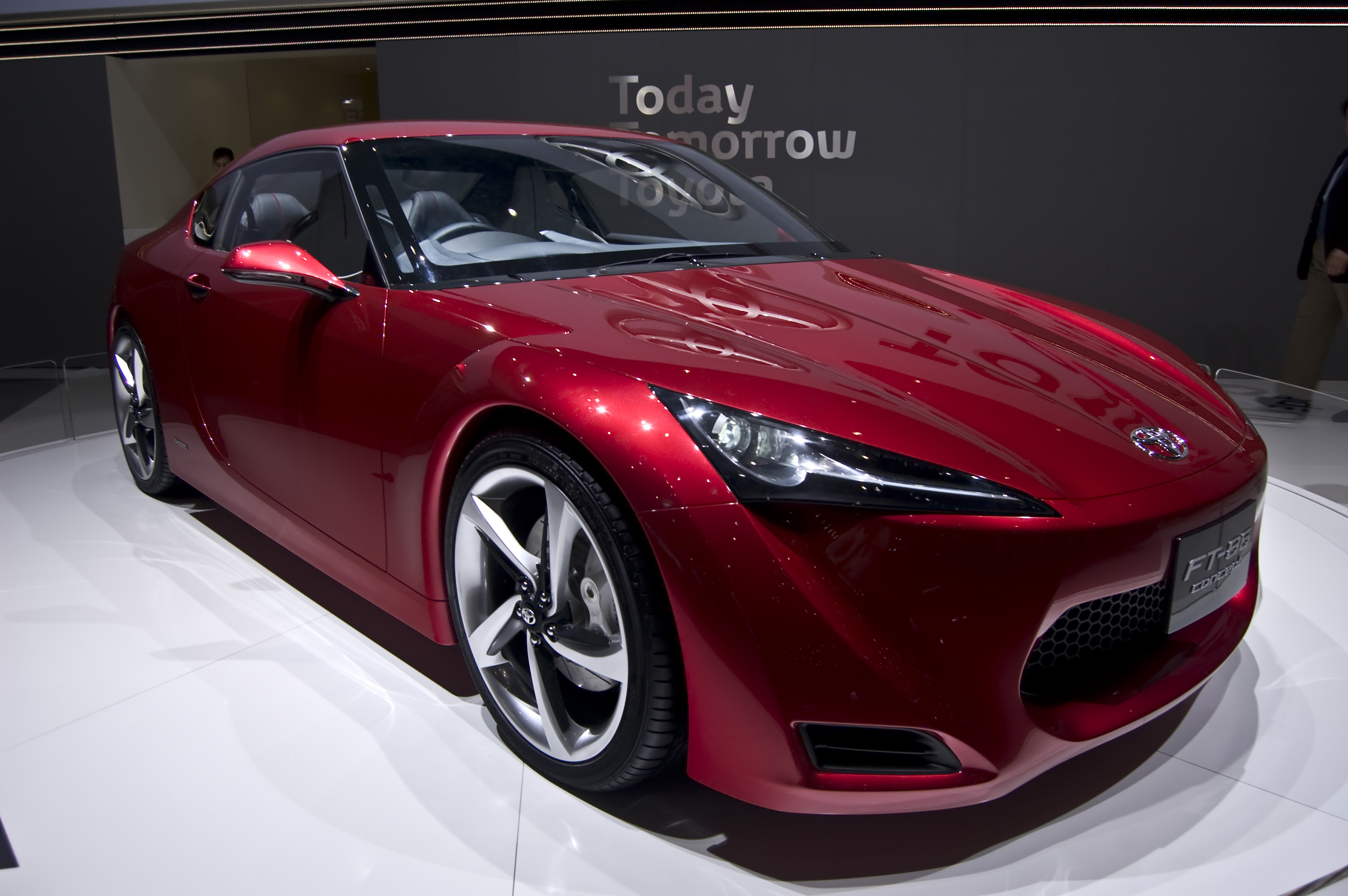 Toyota Ft 86 >> File Toyota Ft 86 Concept Jpg Wikimedia Commons