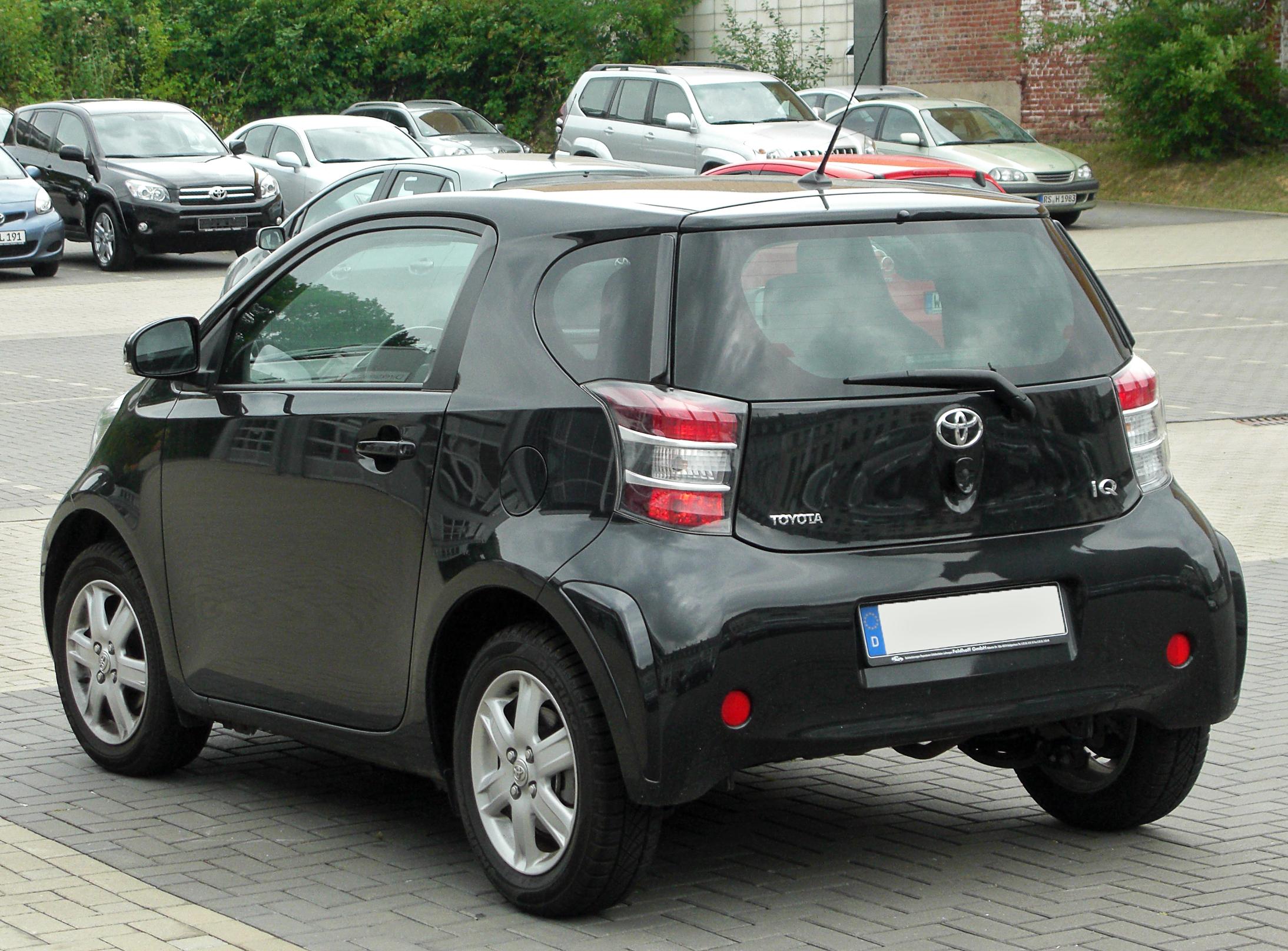 Kekurangan Toyota Q Spesifikasi