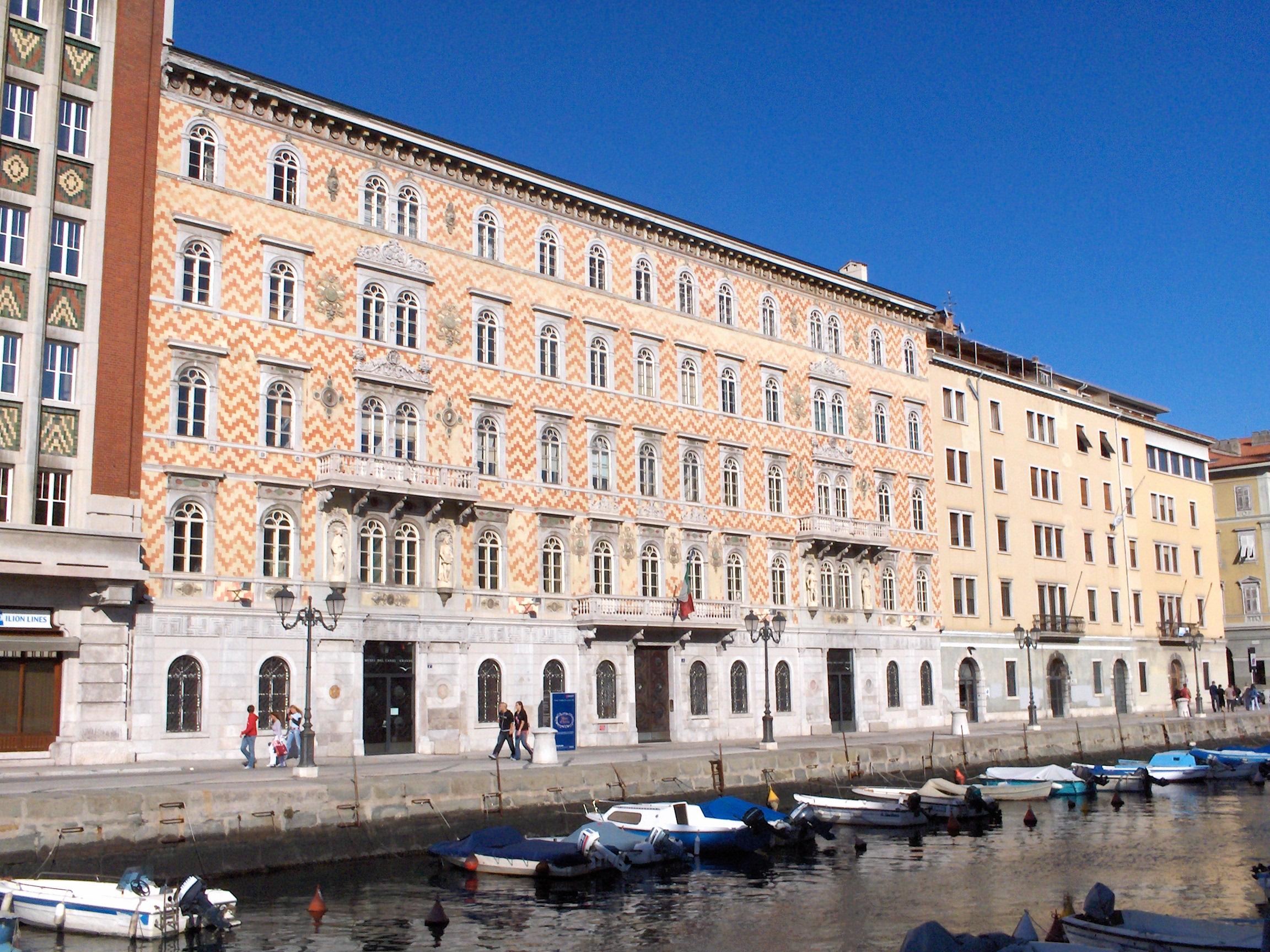 Palazzo Gopcevich, sede del Museo
