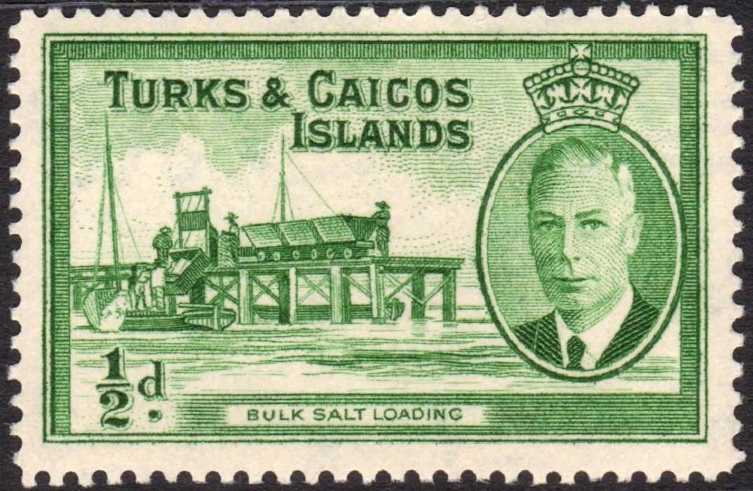file turks and caicos islands bulk salt loading stamp 1950 jpg